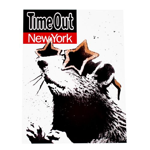 banksy time out new york print