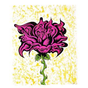 ROSE (Hand Embellished Unique)