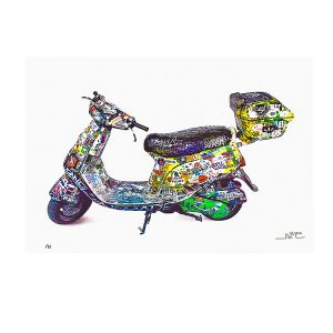 SCOOTER PRINT