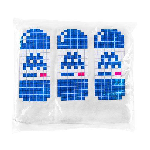 invader bne t-shirt showing three water bottles
