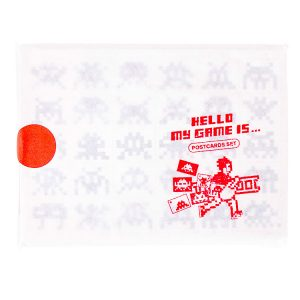 HELLO MY GAME IS POSTCARD SET