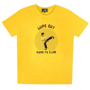 KUNG FU CLUB T-SHIRT (Yellow Large)