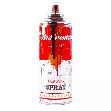 mr.brainwash spray can in black