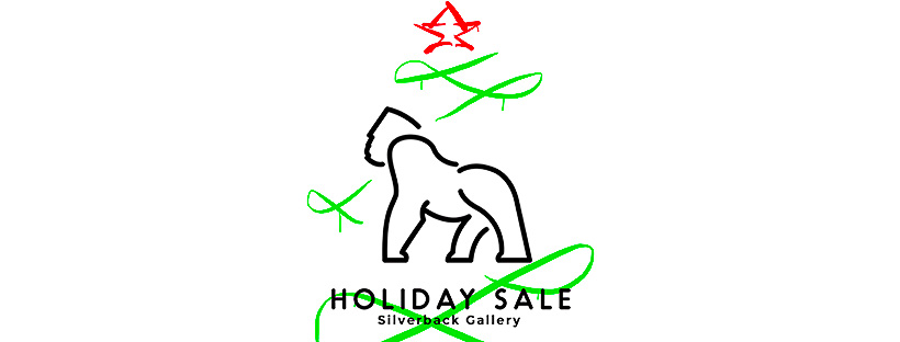silverback gallery holiday sale banner