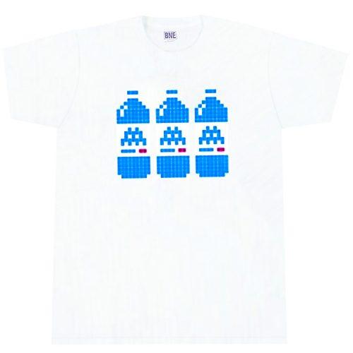 invader bne white t-shirt