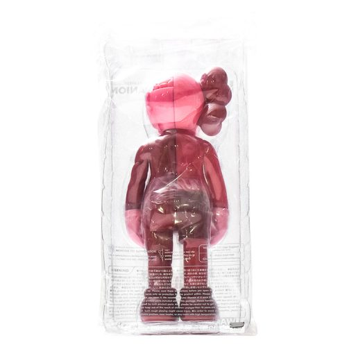 kaws companion blush flayed shown from behind