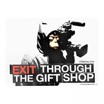 banksy exit through the gift shop original movie poster