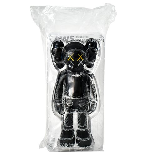 kaws companion black in sealed package