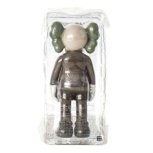 kaws companion brown in sealed package from back