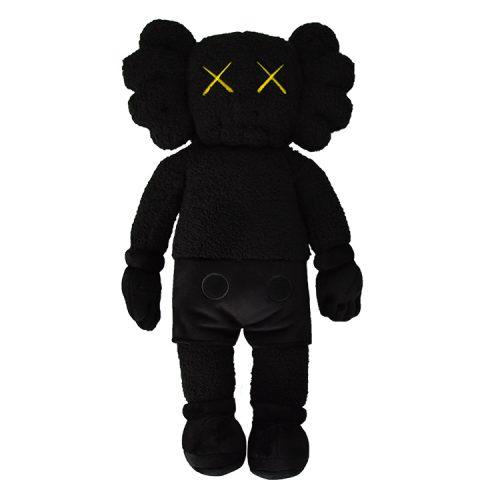 kaws holiday hong kong black plush