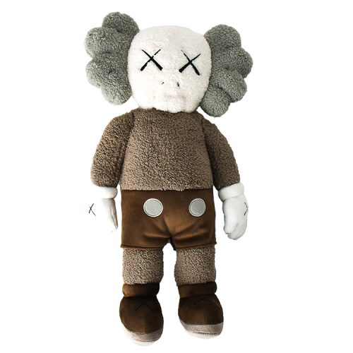 kaws holiday hong kong brown plush