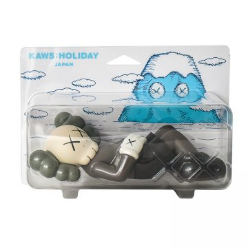 kaws holiday japan vinyl figure in brown sealed package