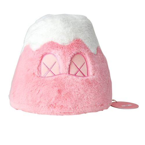kaws mount fuji pink with tag