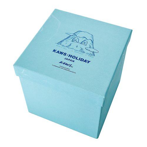 kaws mount fuji blue plush box