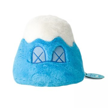 kaws mount fuji blue plush with tag