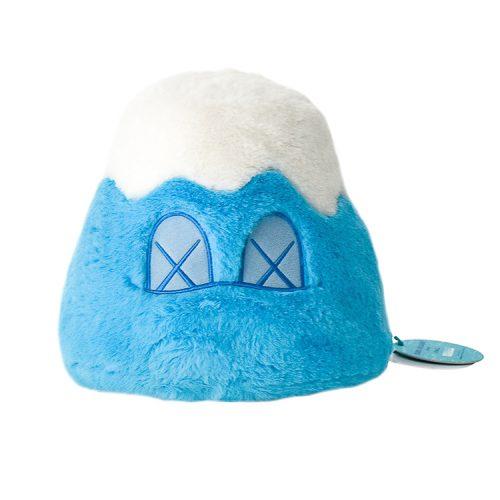kaws mount fuji blue plush with tag