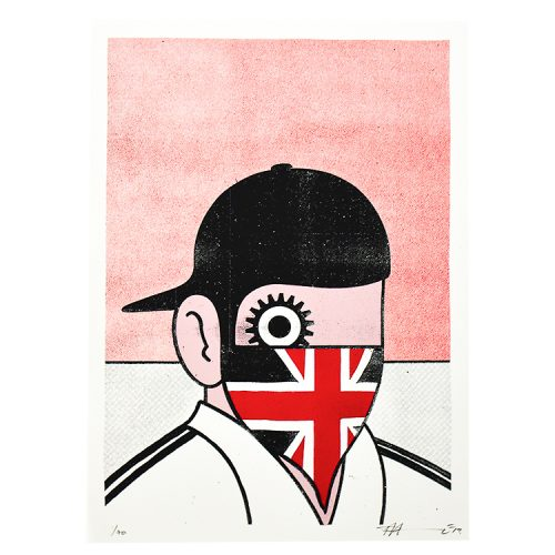 paul insect clockwork britain print