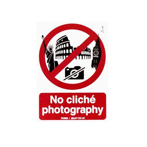 zedsy no cliche photography sticker