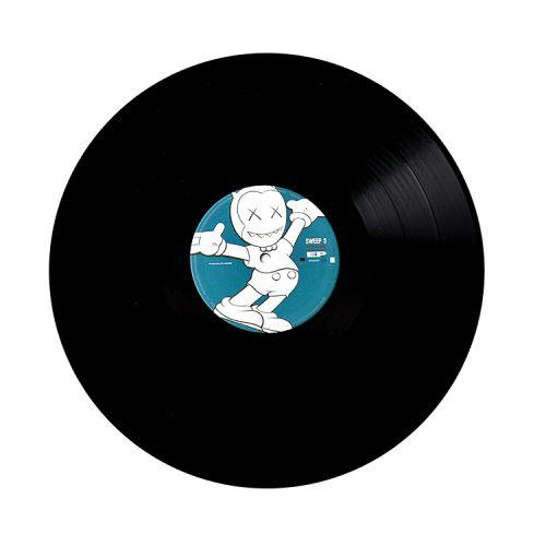 kaws dj hasebe vinyl record side b