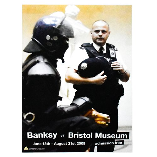 banksy vs bristol museum copper poster