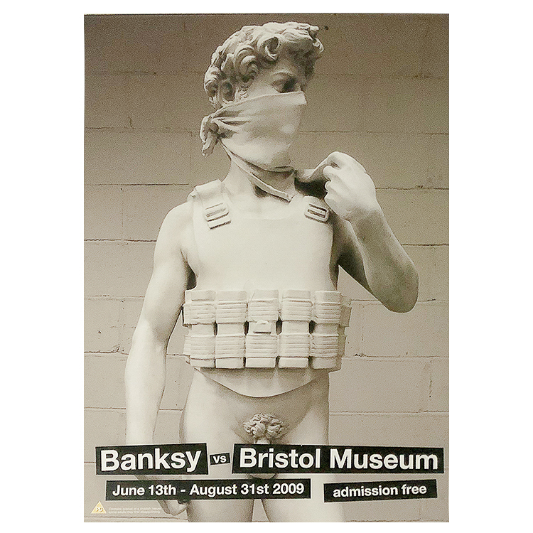 DAVID (Banksy Vs. Bristol Museum)