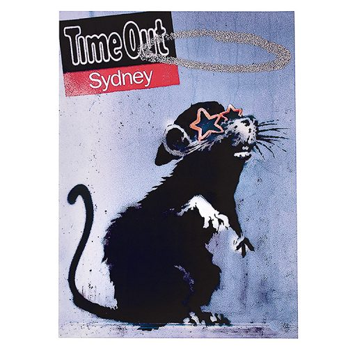banksy time out sydney poster