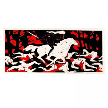cleon peterson victory screenprint