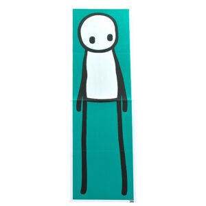 STANDING FIGURE (Teal Signed)