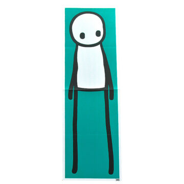 stik standing figure print