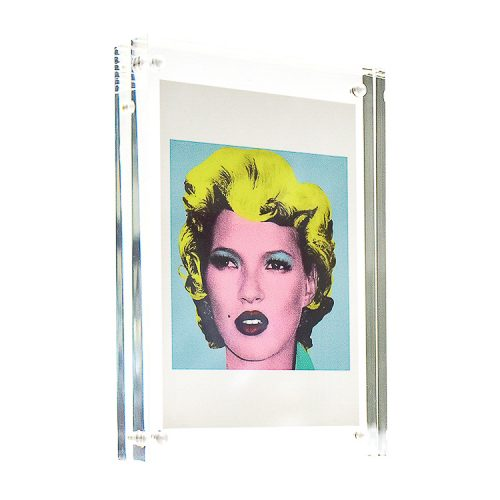banksy kate in clear frame