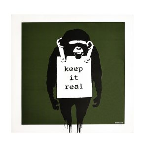 KEEP IT REAL-LAUGH NOW DJ DM (Green Album Cover)