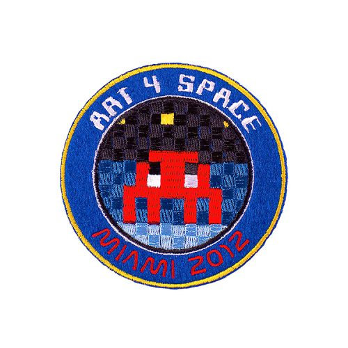 invader art 4 space patch