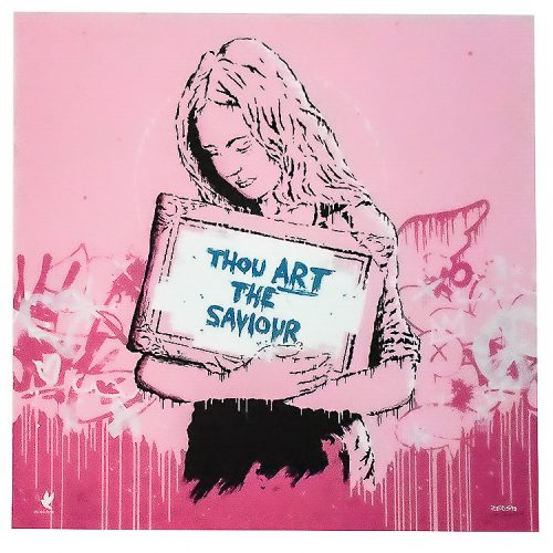 zedsy saviour print artist proof hand embellished