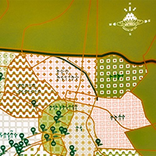 invader sao paulo signed map showing top left with invader icon