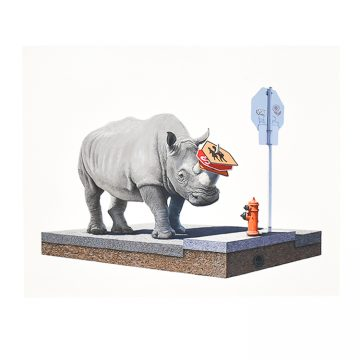 josh keyes the collector print