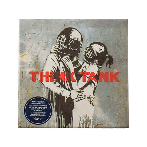 banksy blur think tank special edition front cover