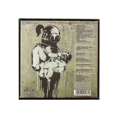 banksy blur think tank special edition showing back cover