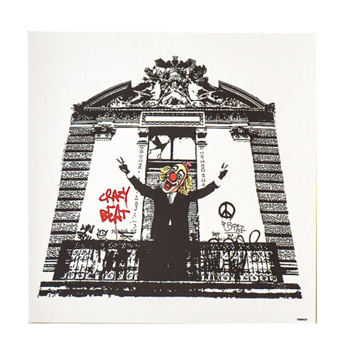 banksy blur think tank special edition showing included crazy beat card