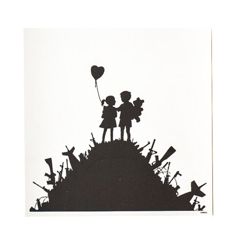 banksy blur think tank special edition showing included card