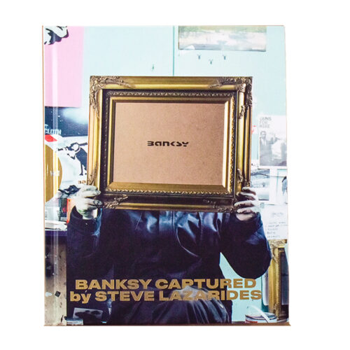banksy captured by steve lazarides vol 2 showing book front cover