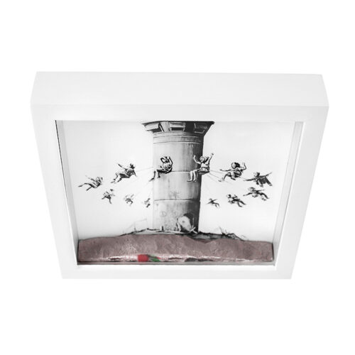 banksy walled off hotel box set 2 showing top view details