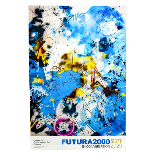 futura 2000 sports in space poster