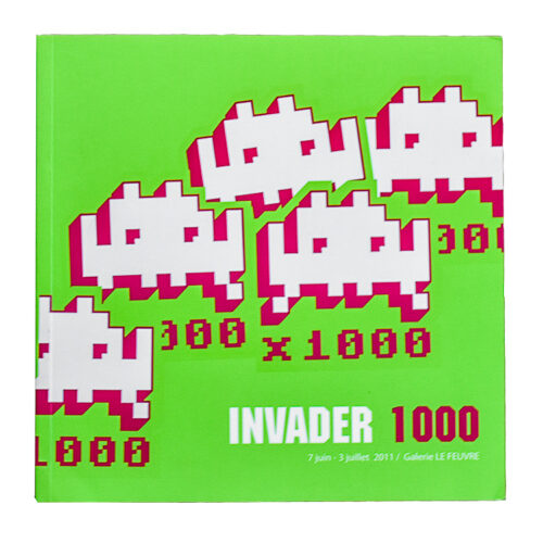invader 1000 book front cover
