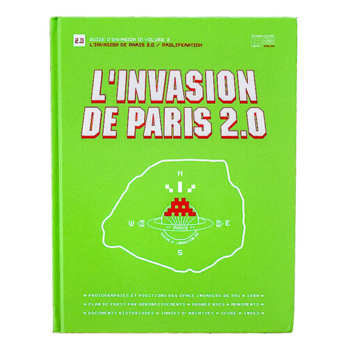 invader l invasion de paris book front cover