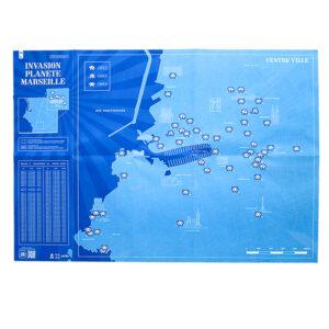 INVASION PLANETE MARSEILLE (Marseille Map)