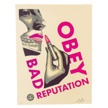shepard fairey bad reputation print