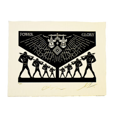 shepard fairey cleon peterson scales of injustice