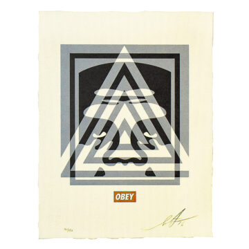 shepard fairey pyramid top icon