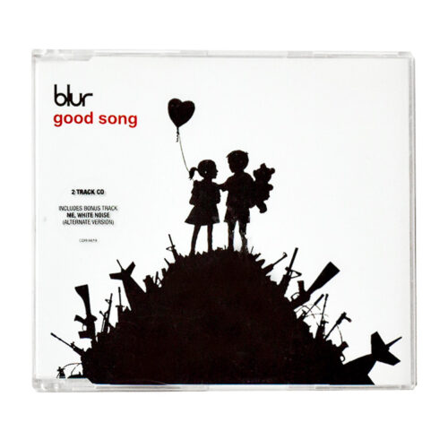 banksy blur good song cd front cover