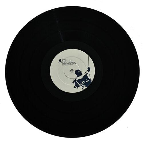 banksy one cut mr x record side a